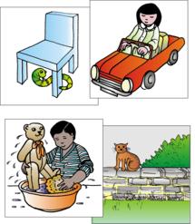Colour Comprehension Cards